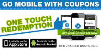 Go Mobile With Coupons!